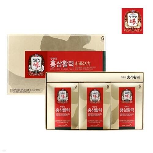[정관장] 홍삼활력 (40ml*30포)