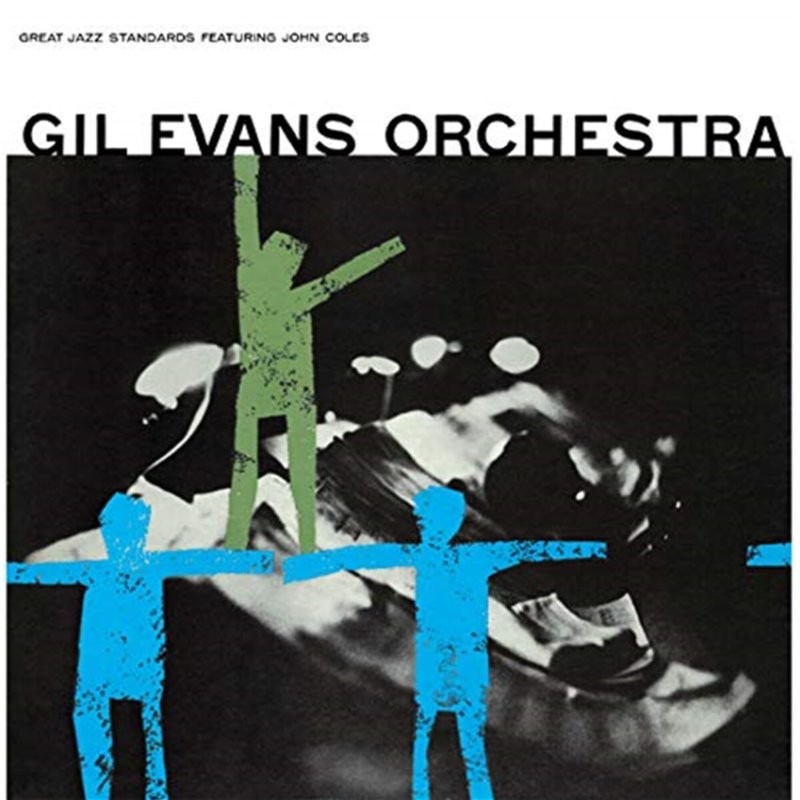 Gil Evans Orchestra (길 에반스 오케스트라) - Great Jazz Standards [LP]