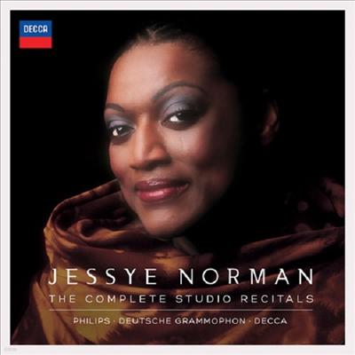 제시 노먼 - 스튜디오 리사이틀 전집 (Jessye Norman - Complete Studio Recitals) (44CD + 3DVD) - Jessye Norman