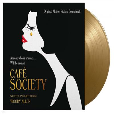 O.S.T. - Cafe Society (카페 소사이어티) (Soundtrack)(Ltd)(180g Colored LP)