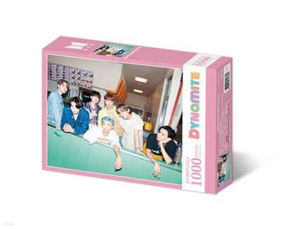 BTS 다이너마이트 직소퍼즐 1000피스 핑크