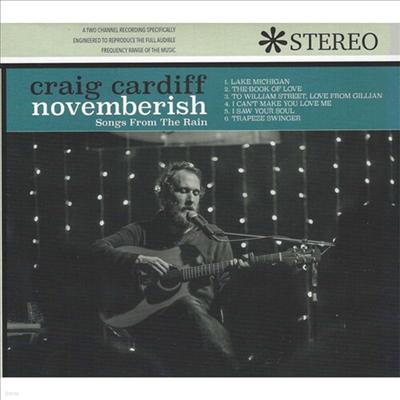 Craig Cardiff - Novemberish (Songs From The Rain) (Digipak)(CD)