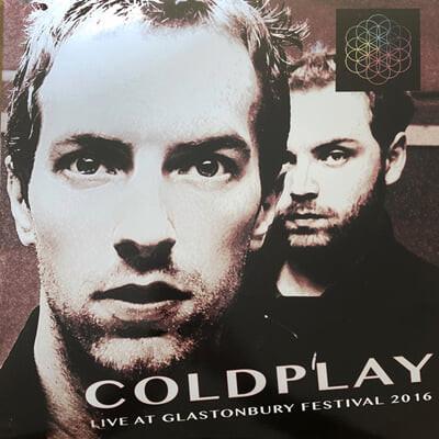 Coldplay (콜드플레이) - Live At Glastonbury Festival 2016 [2LP]