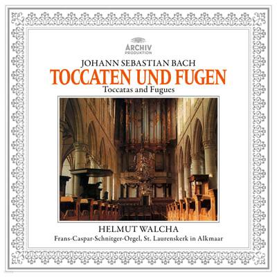 Helmut Walcha 바흐: 토카타와 푸가 - 헬무트 발햐 (J.S. Bach: Toccatas and Fugues BWV565, 540, 538, 564) [LP]