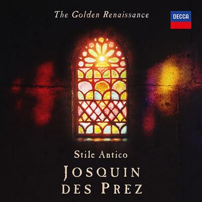 Stile Antico 고음악 보컬 앙상블이 노래하는 조스캥 데 프레 - 스틸레 안티코 (Josquin Des Prez - The Golden Renaissance)