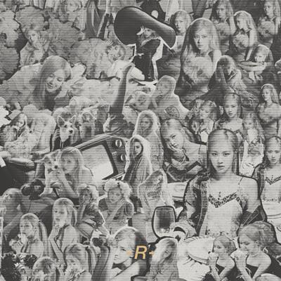 로제 (Rose) - Rose First Single Album -R- [키트앨범]