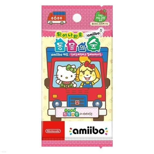 [닌텐도 아미보]튀어나와요 동물의 숲 amiibo+ amiibo 카드 산리오캐릭터즈 컬래버레이션
