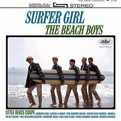 The Beach Boys (비치보이스) - Surfer Girl [2LP]