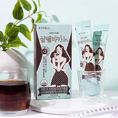 [푸름웰니스] 체지방감소 가르시니아 건강기능식품 다이어트보조제 살뺄라카노210ml (30mlx7포)