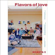 몬스타엑스 (Monsta X) - Flavors Of Love (CD+DVD) (초회한정반)
