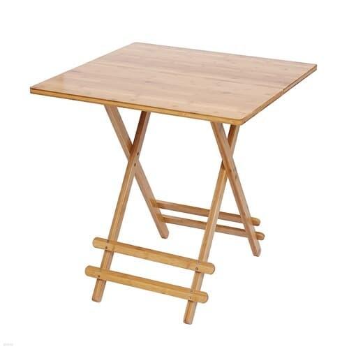 감성우드 간편 접이식 테이블 사각 사이드 보조식탁