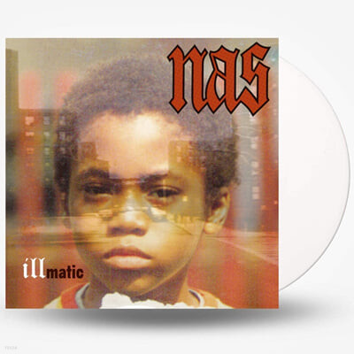 Nas (나스) - 1집 Illmatic [투명 화이트 컬러 LP]