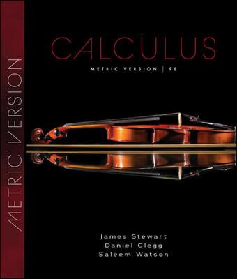 Calculus, 9/E (Metric Version)