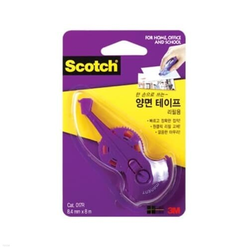 3M 스카치™ 양면테이프 리필 017R(8.4mmx8m)(8....