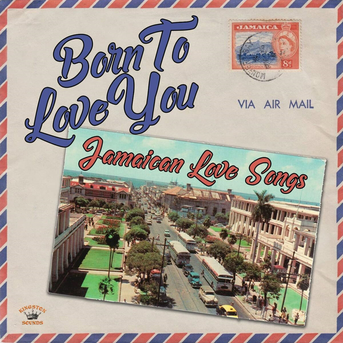 레게 컴필레이션 모음집 (Born to Love You: Jamaican Love Songs) [LP]