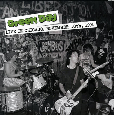 Green Day (그린 데이) - Live in Chicago, November 10th, 1994 [LP]