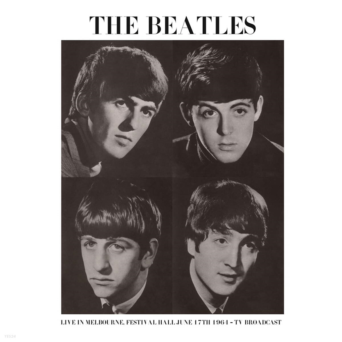 The Beatles (비틀즈) - Live In Melbourne, Festival Hall June 17th 1964 : TV Broadcast [LP]