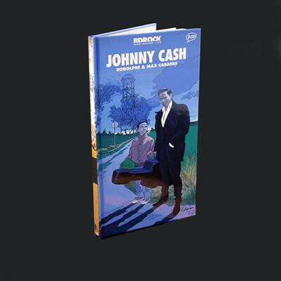 일러스트로 만나는 조니 캐시 (Johnny Cash illustrated by Max Cabanes)