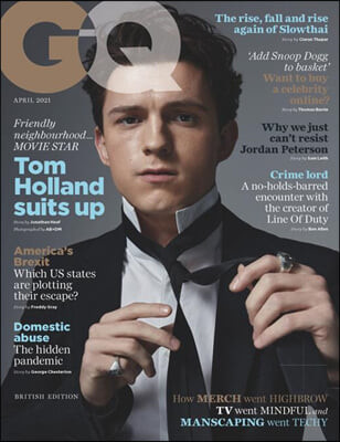 GQ UK (월간) : 2021년 04월 : 톰 홀랜드 커버