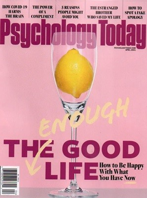 Psychology Today (격월간)  : 2021년 03/04월