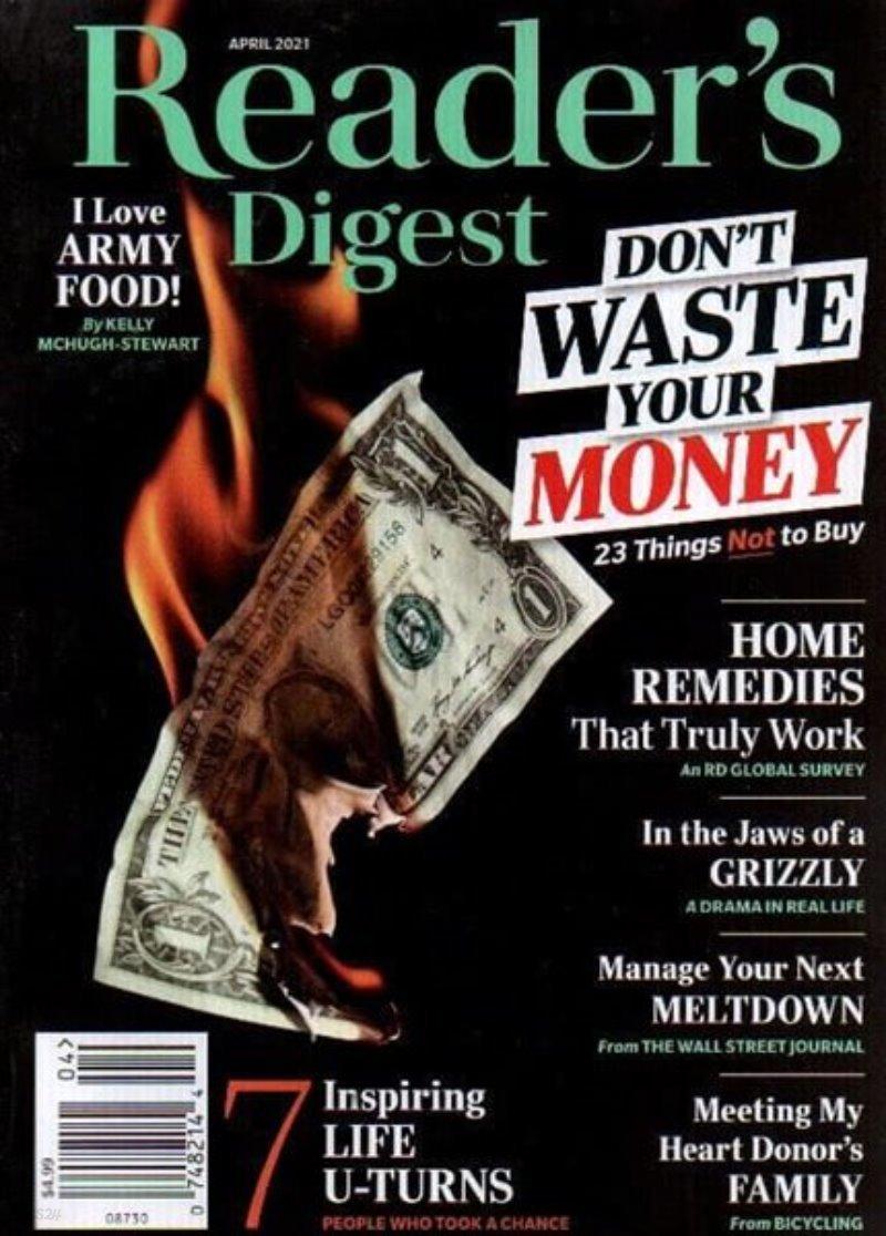 Reader's Digest USA (월간) : 2021년 04월