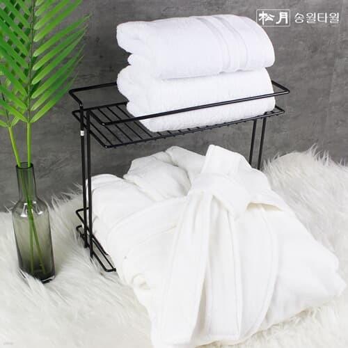 송월 5성급호텔 올풀림없는 프리미엄 시어링 샤워가운