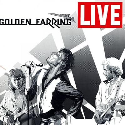 Golden Earring (골든 이어링) - Golden Earring Live [화이트 컬러 2LP]