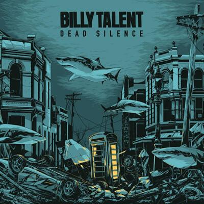 Billy Talent (빌리 탤런트) - 4집 Dead Silence [크리스탈 워터 컬러 2LP]