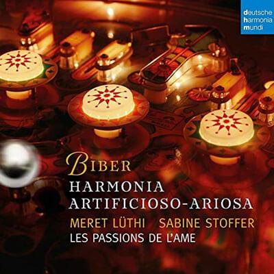 Les Passions de l'Ame 비버: 파르티타 1-7번 (Biber: Harmonia artificiosa-ariosa Partitas)