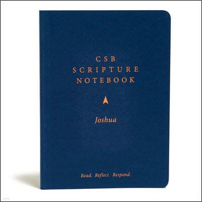 CSB Scripture Notebook, Joshua: Read. Reflect. Respond.