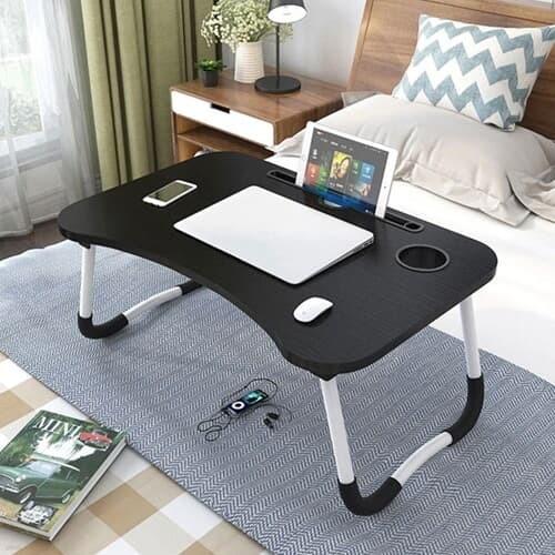 노트북 책상 좌석 접이식 미니 침대 베드 테이블 더쎈