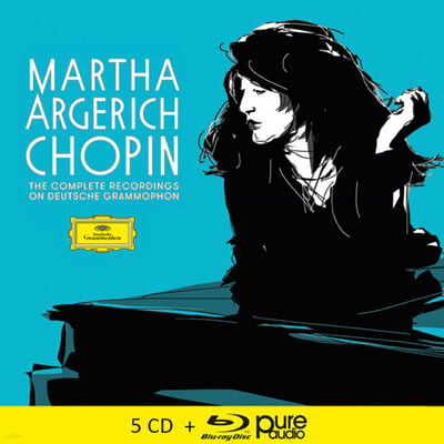 마르타 아르헤리치가 연주하는 쇼팽 (Martha Argerich: Chopin Complete Recordings on DG)