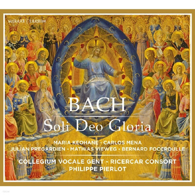 Ricercar Consort 바흐: 칸타타 모음 (J.S.Bach: Soli Deo Gloria - Cantatas)