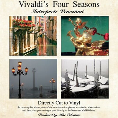 Interpreti Veneziani 비발디: 사계 (Vivaldi: Four Seasons) [LP]