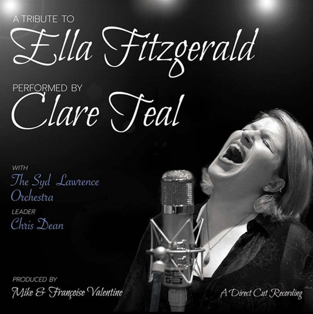 Clare Teal 엘라 피츠제럴드 헌정음악 (A Tribute To Ella Fitzgerald) [LP]