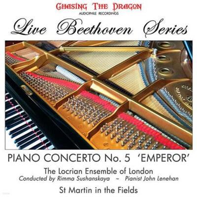 """John Lenehan 베토벤: 피아노 협주곡 5번 """"황제"""" (Beethoven: Piano Concerto No.5 """"Emperor"""") [LP]"""