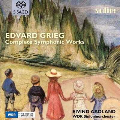 Eivind Aadland 그리그: 교향곡 전곡 (Grieg: Complete Symphonic Works)