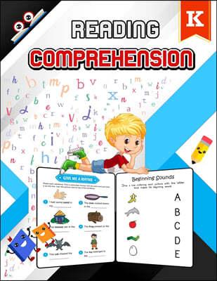 Reading Comprehension Activity Workbook - Preschool & Kindergarten