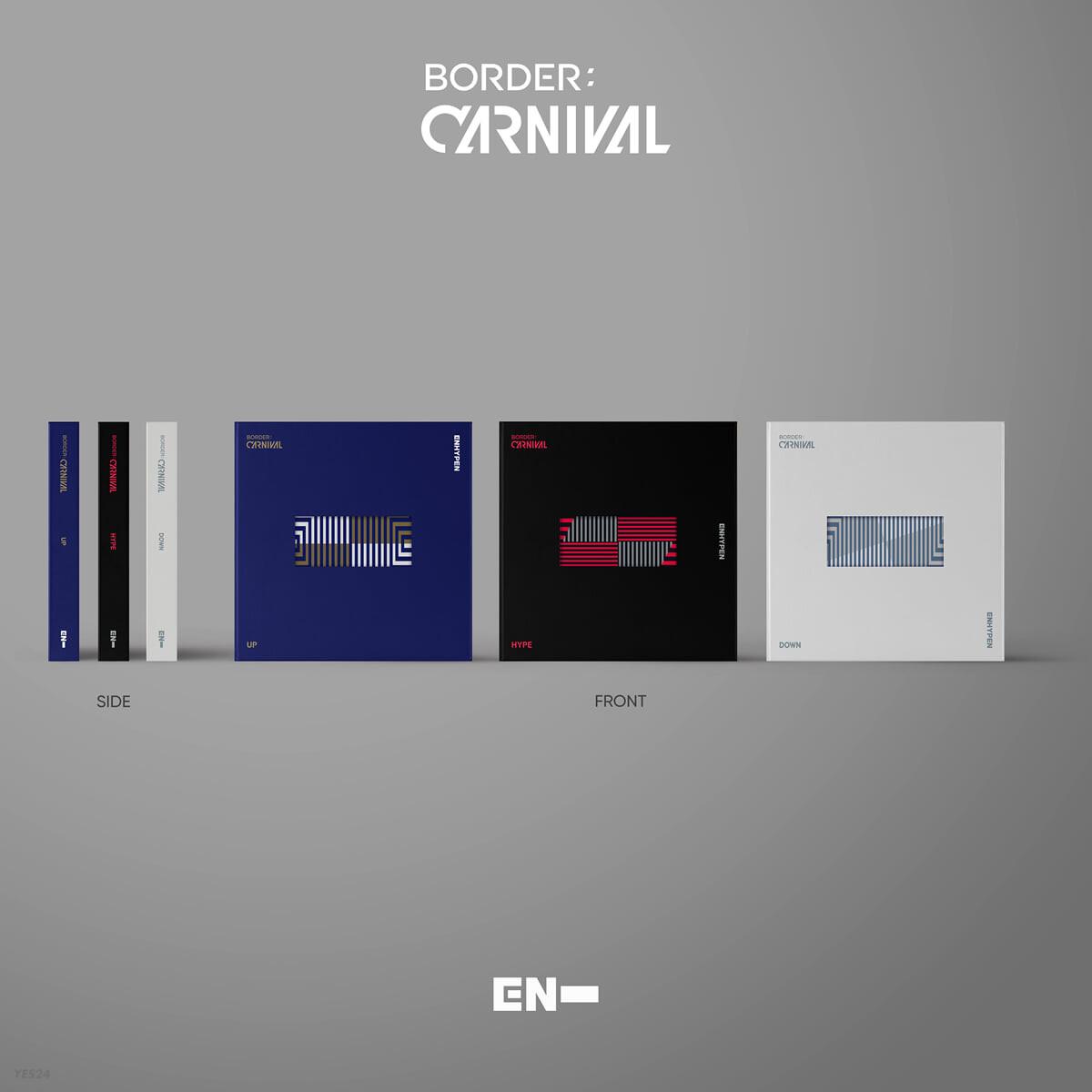 ENHYPEN - BORDER : CARNIVAL [SET]