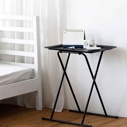 접이식 사이드테이블 소파 테이블 틈새 공간 이동식 사무실 거실 작은방 원룸 보조테이블