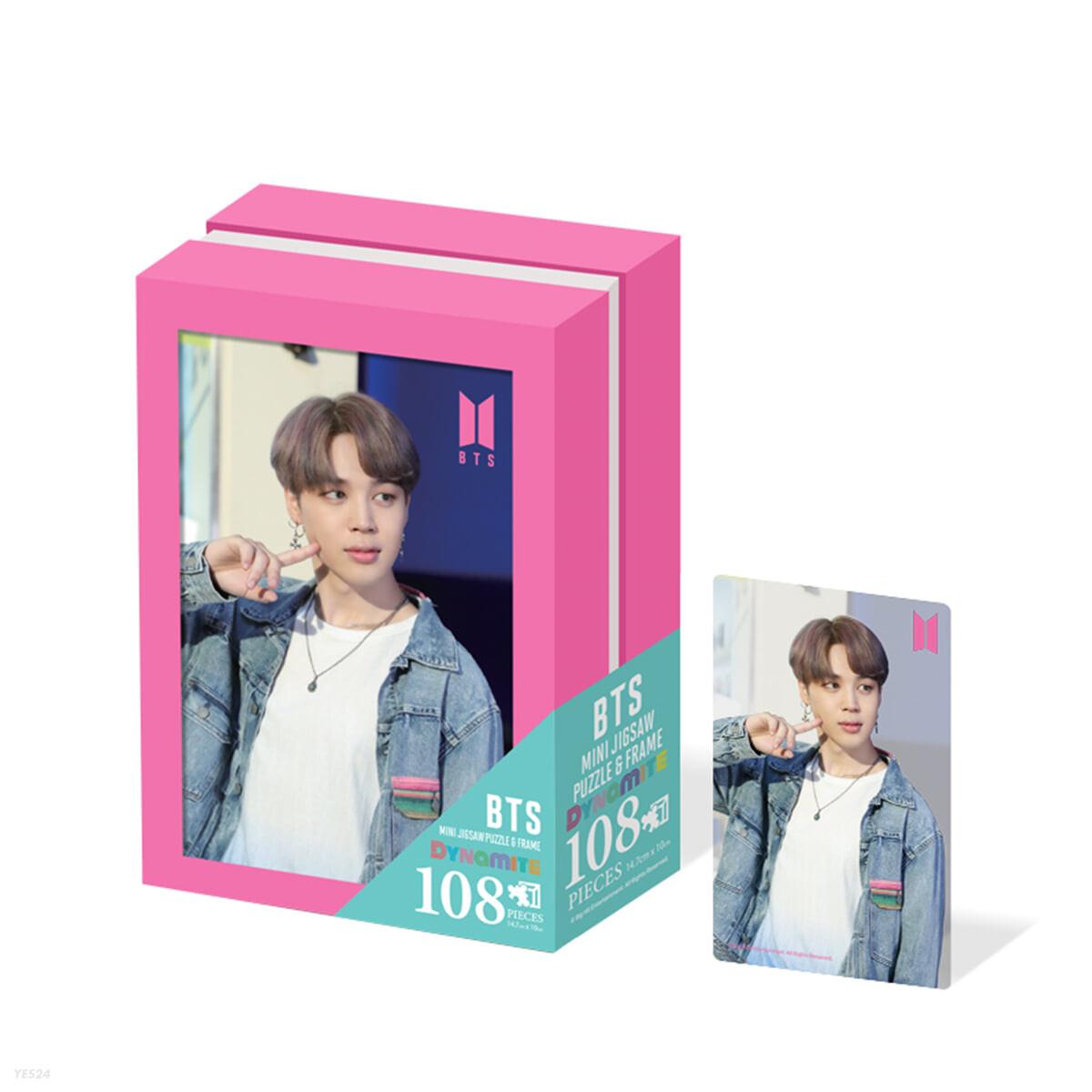 BTS 다이너마이트 액자 직소퍼즐 108피스 지민