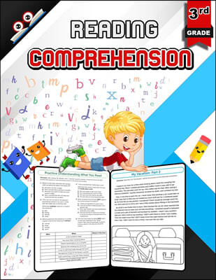 Reading Comprehension for 3rd Grade - Color Edition
