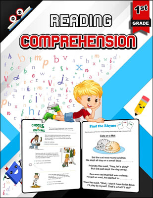 Reading Comprehension for 1st Grade - Color Edition