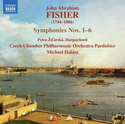 Michael Halasz 존 에이브러햄 피셔: 교향곡 1-6번 (John Abraham Fisher: Symphonies Nos.1-6)