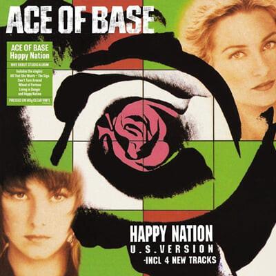 Ace of Base (에이스 오브 베이스) - Happy Nation [투명 컬러 LP]