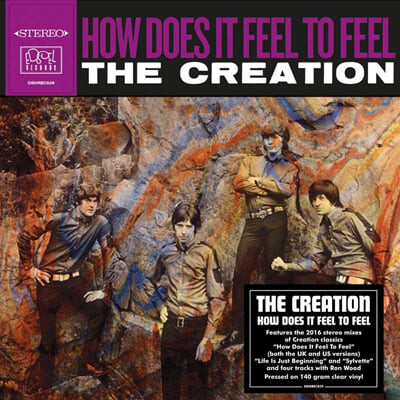 The Creation (크리에이션) - How Does It Feel To Feel? [투명 컬러 LP]