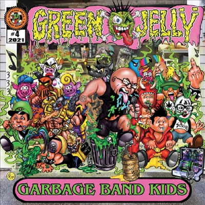 Green Jelly - Garbage Band Kids (CD)