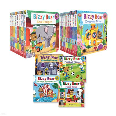 비지베어 원서 스테디셀러 20권 보드북 세트 (QR 코드 포함) Bizzy Bear Steady Seller 20 Books Set