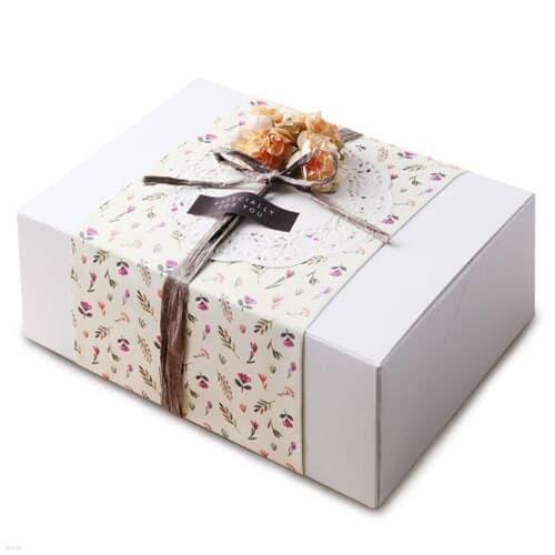 모던 화이트 선물상자-4 (2개)
