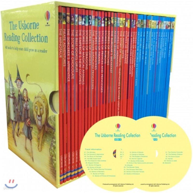 [어스본 리딩 3단계] The Usborne Reading Collection 40권 세트 (Book & CD)